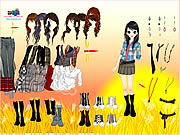 Click to Play Cornfield Dress Up