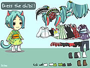 Click to Play Dress the Chibi