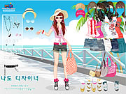 Click to Play Beach Doll Dress Up