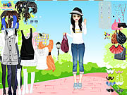 Click to Play Spring Park Dress Up