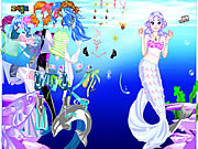 Click to Play Sea Girl Dressup