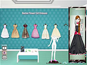 Click to Play Barbie Flower Girl Dresses