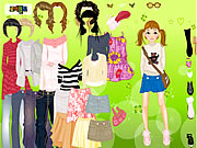 Click to Play Cool for School Dress Up