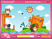 Click to Play Puppyred Cannonball