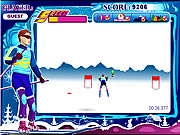 Click to Play Snowboard Sprint