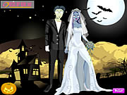 Click to Play Halloween Couple Dressup