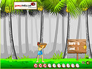 Click to Play Paappy in Falling Coconuts