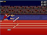Click to Play 110m Hurdles Game