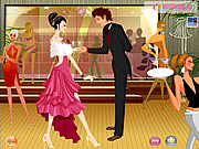 Click to Play Couple at Night Party