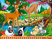 Click to Play Hidden Numbers - Bambi