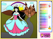 Click to Play Castle Of Princess Coloring Game