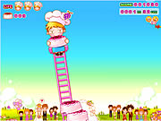 Click to Play Cake Tower Game