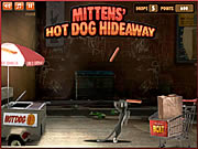 Click to Play Mittens' Hot Dog Hideaway