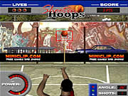 Click to Play Shootin' Hoops