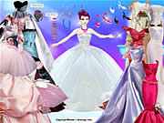 Click to Play Barbie in Gowns