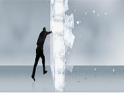 Click to Play Ice Walls