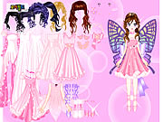 Click to Play Pink Butterfly Dress up