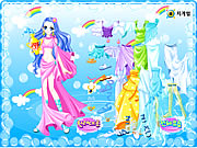Click to Play Aquarius Zodiac Dress up