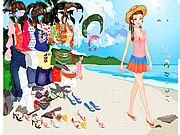 Click to Play Thailand Beach Dress up