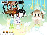 Click to Play Baby Angel Dress Up