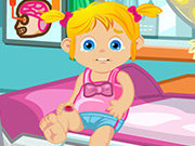 Click to Play Baby Ella Hurts Her Leg