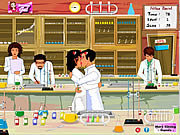 Click to Play Chemistry Lab Kissing