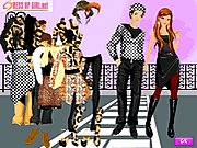 Click to Play Dress up luxurious Leopard