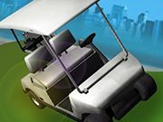 Click to Play Golf Cart City Driving Sim