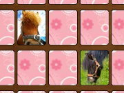 Click to Play Memory Game: Horses!