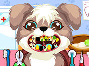 Click to Play Puppy at the Dentist