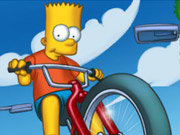 Click to Play Simpsons Bike Rally